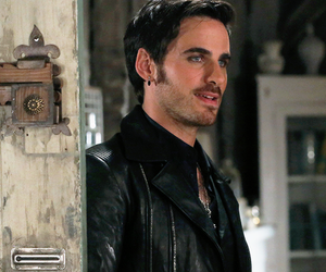 colin o'donoghue, hook, and once upon a time image