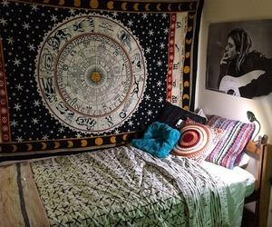 room, bedroom, and indie image