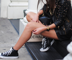 cool, fashion, and black image