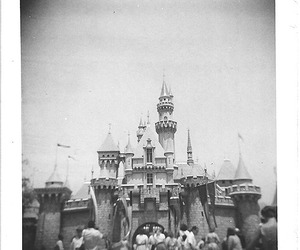 1950s, black and white, and disney image