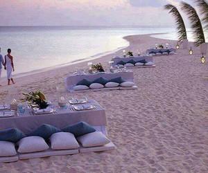 beach, romantic, and sea image