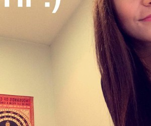 andrea russett and snapchat image