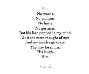 him, quote, and laugh image
