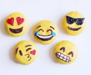 Cookies and emoji image