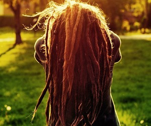 dreadlocks, hair, and dreads image