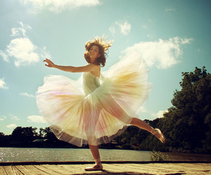ballet, dance, and leap image