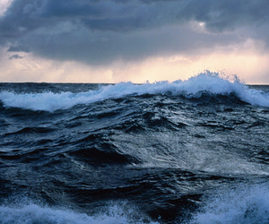 ocean, blue, and water image