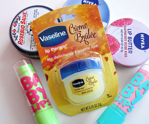 lips, nivea, and baby lips image