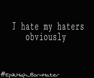 bobby, hate, and haters image