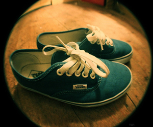 blue, vans, and fisheye image