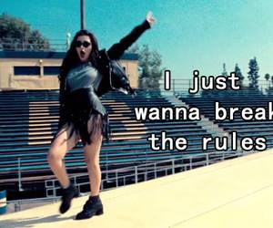 grunge, break the rules, and xcx image