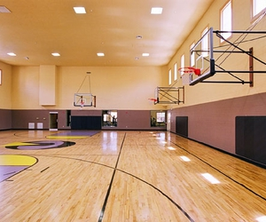 e, indoor basketball court, and basketball courts image