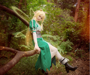 cosplay, cosplay costume, and sword art online image