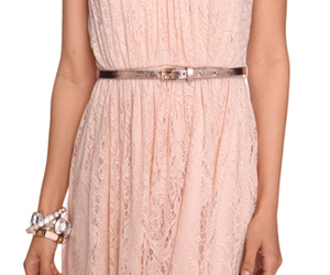 dress, pink, and forever 21 image