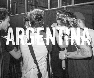 argentina, black and white, and gitar image