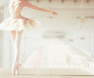 ballerina, ballet, and dancing image