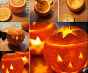 diy, Halloween, and orange image