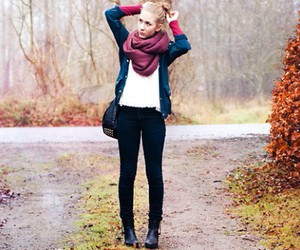 fashion, autumn, and clothes image