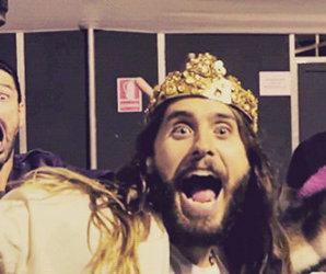 jared leto funny, jared leto 2014, and love lust faith dreams image