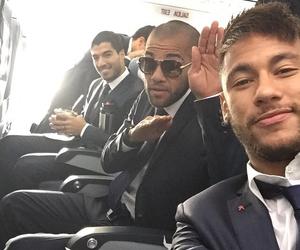 neymar, Barcelona, and suarez image