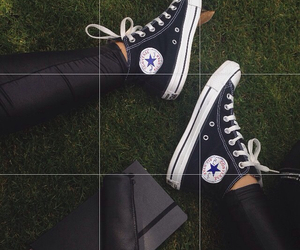 all star, black, and bored image