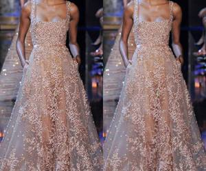 beauty, dress, and elie saab image