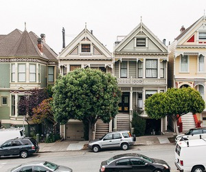 street, architecture, and Houses image