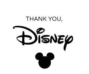 disney and thank you image