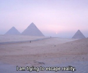 escape, reality, and grunge image
