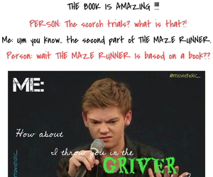 thomas sangster and grievers image