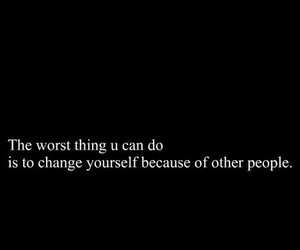 change, quote, and love image