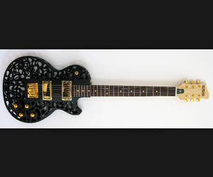 art, electric, and electric guitar image