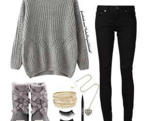 autumn, cold, and fashion image