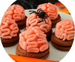 Halloween, food, and spider image