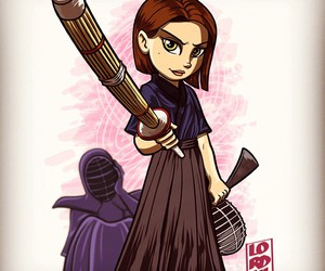 arrow, thea queen, and lordmesa art image