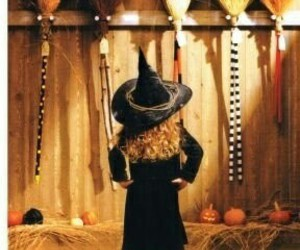 Halloween, broom, and witch image