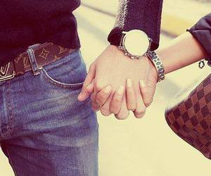 love, couple, and Louis Vuitton image