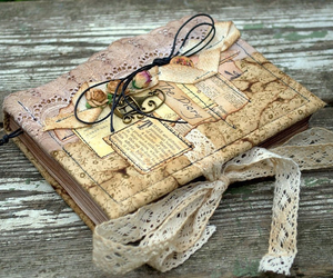 diary, notebook, and scrapbooking image