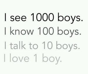 boys, quote, and love image
