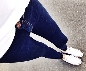 jeans, style, and fashion image