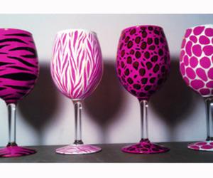 pink, zebra, and animal print image