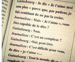 Gainsbourg and je t'aime image