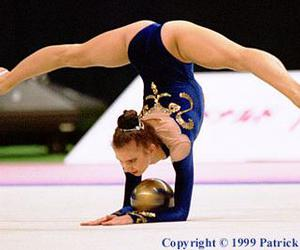 beauty, flexibility, and gymnastics image