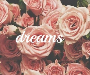 dreams, fashion, and flowers image
