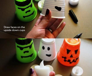Halloween, diy, and decoration image