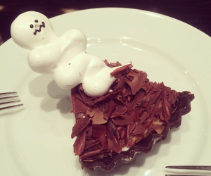 desserts, food, and ghost image