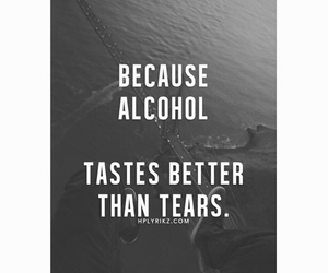 tears, alcohol, and broken image