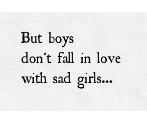 love, girl, and sad image
