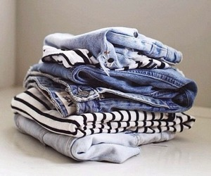 clothes, jeans, and fashion image
