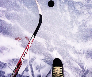 hockey, inspire, and ice image